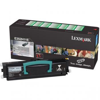 Lexmark E352H11E | E352H21E | 9000 Seiten, Lexmark Tonerkassette, schwarz