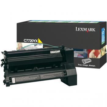 Original Lexmark 00C7720YX Toner Yellow