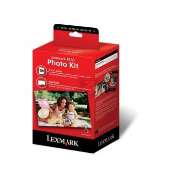 Lexmark 18Y0146E Nr. 45 | Multipack, Lexmark Tintenpatrone + Papier, color