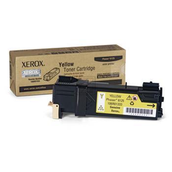 Original Xerox 106R01333 / 6125 Toner Gelb