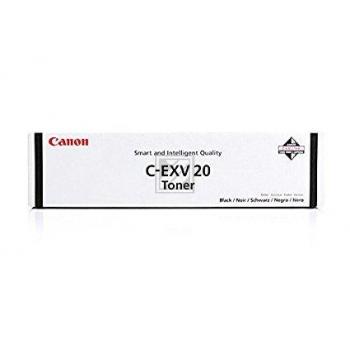 Original Canon 0436B002 / C-EXV20BK Toner Schwarz