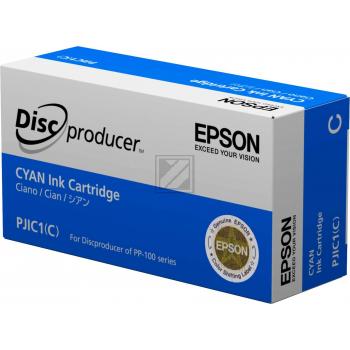 ORIGINAL Epson Tintenpatrone Cyan C13S020447 PJIC1 31.5ml