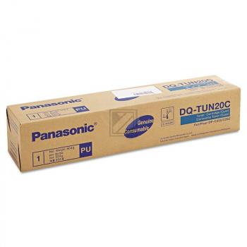 Original Panasonic DQ-TUN20C Toner Cyan
