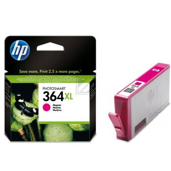 HP Tintenpatrone magenta HC (CB324EE, 364XL)