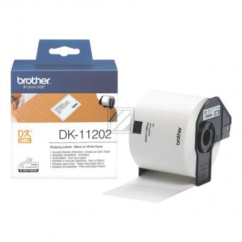 Original Brother DK-11202 P-Touch (Versand-Etiketten, Päckchen)