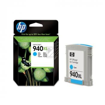 HP Tintenpatrone cyan HC (C4907AE, 940XL)