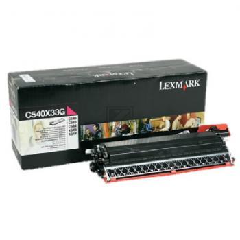 Lexmark Entwicklereinheit magenta (C540X33G)