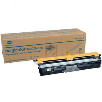 Original Konica Minolta A0V306H Toner Yellow