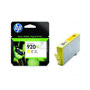 HP Tintenpatrone gelb HC (CD974AE, 920XL)