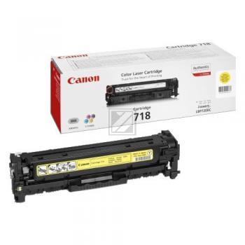 Canon Toner-Kartusche gelb (2659B002, CL-718Y)