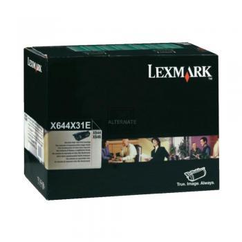 Lexmark Toner-Kartusche schwarz High-Capacity plus (X644X31E)