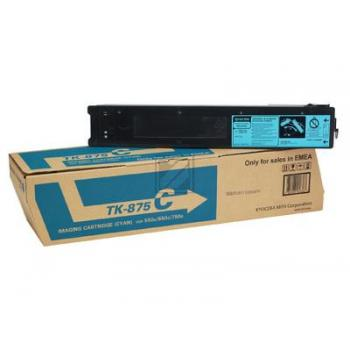 Original Kyocera 1T05JNANL0 / TK-875Y Toner Cyan