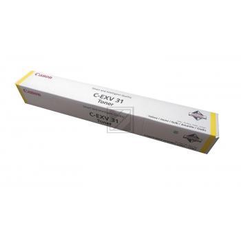 Canon Toner-Kit gelb (2804B002, C-EXV31)
