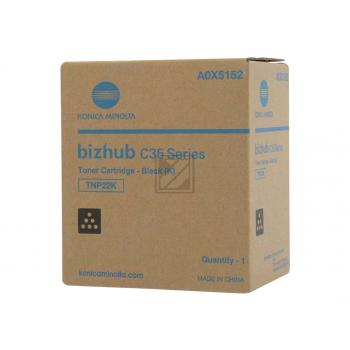 Konica Minolta Toner-Kit schwarz (A0X5152, TNP-22K)