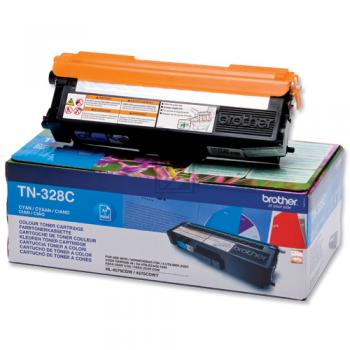 Brother Toner-Kit cyan HC plus (TN-328C)