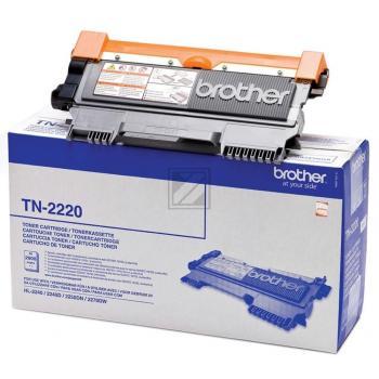 Brother Toner-Kit schwarz HC (TN-2220)