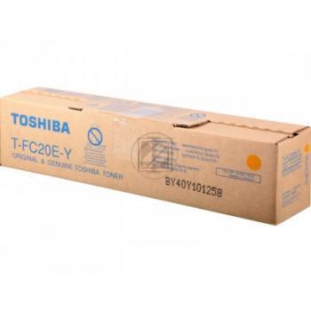 Toshiba Toner-Kit gelb (6AJ00000070, T-FC20EY)
