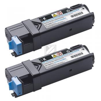 Dell Toner-Kartusche schwarz 2-Pack HC (593-11035, 899WG) Qualitätsstufe: A