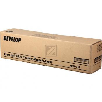 Develop Fotoleitertrommel cyan/gelb/magenta (A0XV1TD, DR-311C)