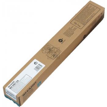 MX61GTCA // Cyan // original // Sharp // Toner / MX61GTCA // MX3570N // 24.000 Seiten