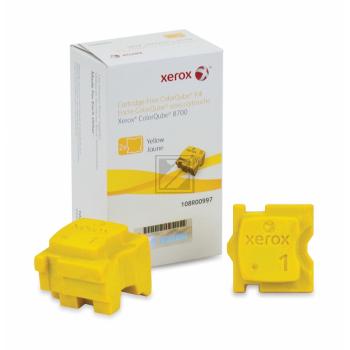 Original Xerox 108R00997 Festtinte in Color-Stix Yellow