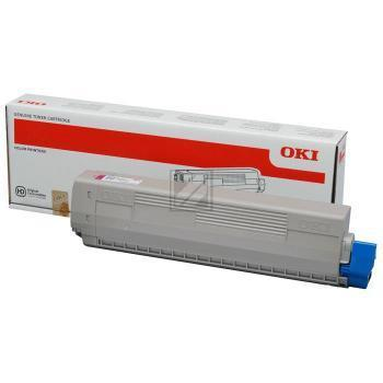 Original OKI 44844613 Toner Yellow
