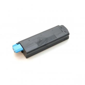Premium Toner Cyan HY kompatibel für OKI C5100, C5200, C5300, C5400, C5540