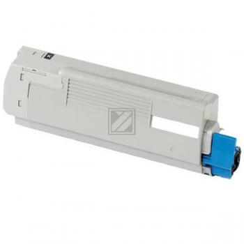 Premium Toner Schwarz kompatibel für OKI C5550 MFP, C5800, C5900