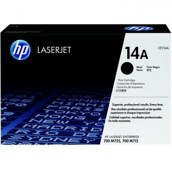 Original HP CF214A / 14A Toner Black