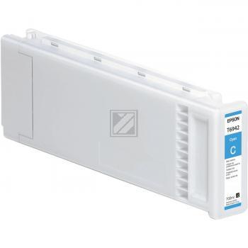 Epson Tintenpatrone Ultra Chrome XD cyan HC plus (C13T694200, T6942)