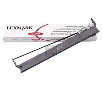LEXMARK 13L0034 | 15 Mio. Zeichen, LEXMARK Farbband Nylon, schwarz