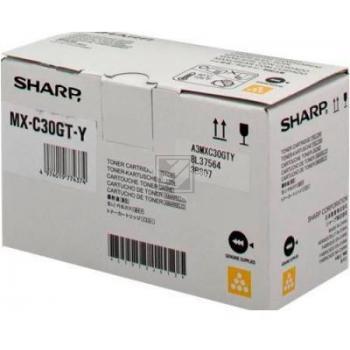 Sharp Toner MXC-30GTY yellow
