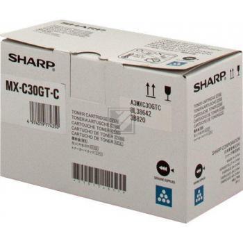 Original Sharp MXC-30 GTC Toner Cyan