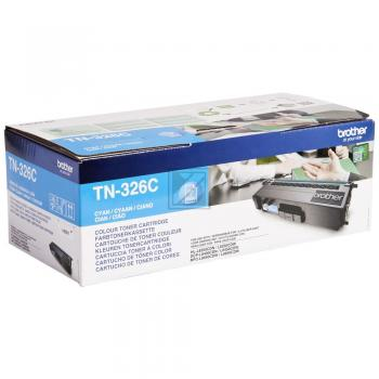 Brother Toner-Kartusche cyan HC (TN-326C)