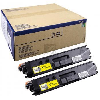 Brother Toner-Kartusche 2 x gelb 2-Pack (TN-329YTWIN)