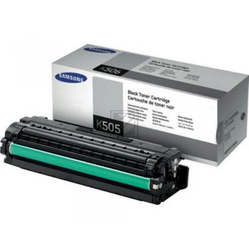 Original Samsung CLT-K505L / K505L Toner Schwarz