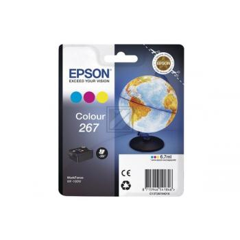 Original Epson C13T26704010 / 267 Tinte Cyan, Magenta, Gelb