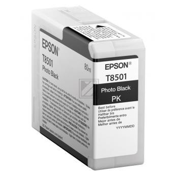 Epson Tintenpatrone photo schwarz (C13T850100, T8501)