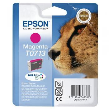 Epson Tintenpatrone magenta High-Capacity (C13T07134011, T0713)