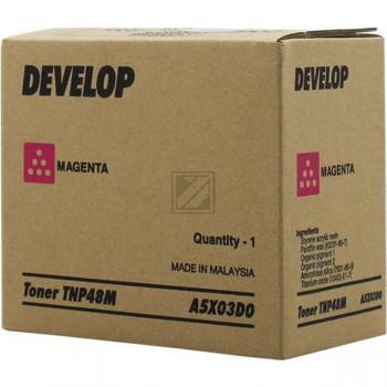 Original Develop A5X03D0 / TNP-48 M Toner Magenta