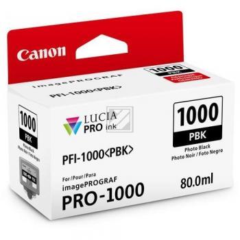 Canon Tintenpatrone photo schwarz (0546C001, PFI-1000PBK)