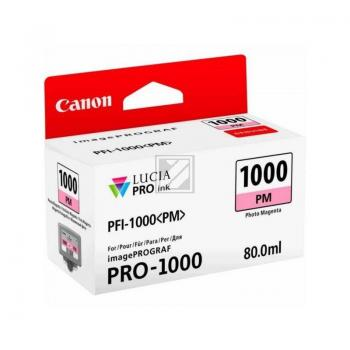 Canon Tintenpatrone Photo magenta (0551C001, PFI-1000PM)