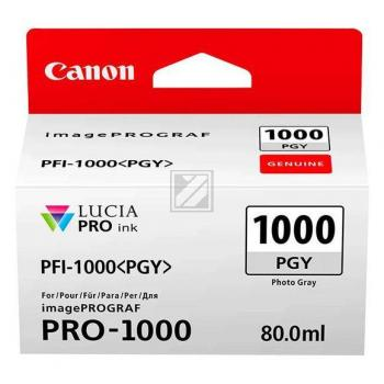 Canon Tintenpatrone grau (0553C001, PFI-1000PGY)