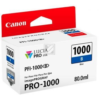 Canon Tintenpatrone blau (0555C001, PFI-1000B)