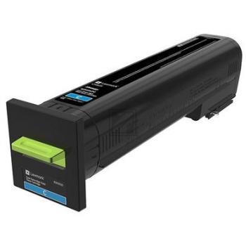 Lexmark Toner-Kit cyan HC (82K0X20) Qualitätsstufe: A