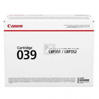 Canon Toner-Kartusche schwarz (0287C001, 039)