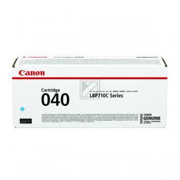 Original Canon 0458C001 / 040C Toner Cyan