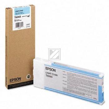 Epson Tintenpatrone cyan light High-Capacity (C13T565500 C13T606500, T6065)
