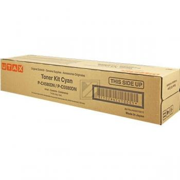 Original Utax 44450 10011 / 4445010011,44450 10011 Toner Cyan
