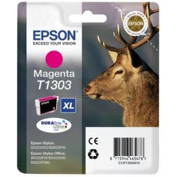 Epson Tintenpatrone magenta (C13T13034012, T1303)